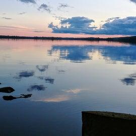 Twilight on Two Island Lake