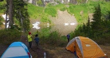 Blue Lake BackCountry Campsites