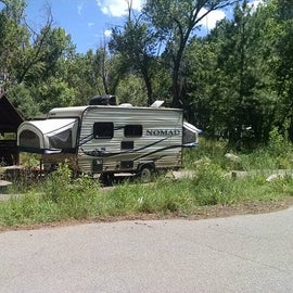 Perfect site for a small RV