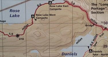 Rose Lake (west)