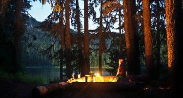 Lake Eleanor backcountry campsites