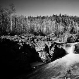 Falls along the park trails