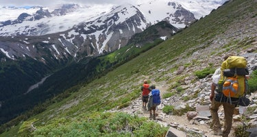 Glacier Basin backcountry campsites