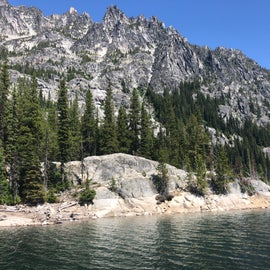 Snow Lake... its just one of a dozen lakes you'll see, but they'll all amaze you.