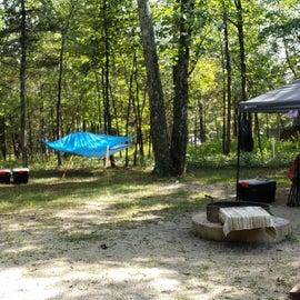 Our basic regular campsite