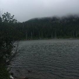 Rainy Lake!  Barely a lake.