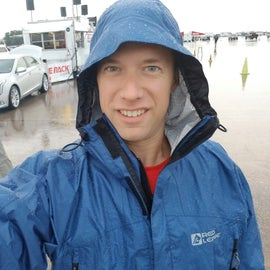 Of course it rains while in Lincoln.  But I was prepared and stayed dry!
