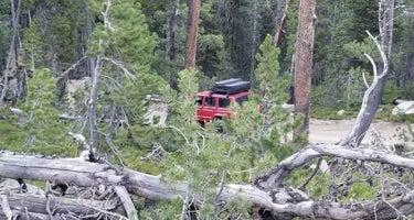 Christina Lake Trailhead Dispersed Sites