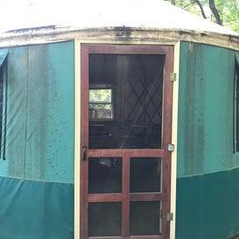 Yurt #4 - Front Door