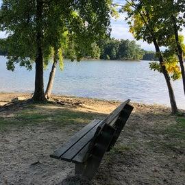 The beach at Jay Lake