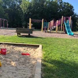 Playground and sandpit