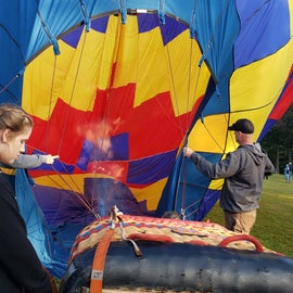 Suncook Valley Rotary Club Balloon Festival is nearby in early Augus