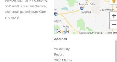 Willow Bay RV Park & Marina