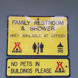 Family Shower - We will try to use this next time.