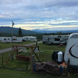 """View from """"seasonal"""" side/RV sites"""