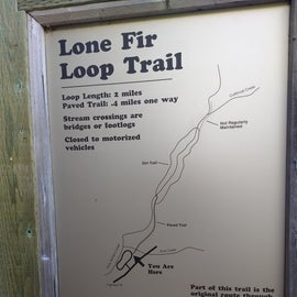 The Loop Trail, which we were excited to explore.