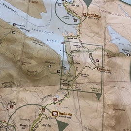 You can buy detailed trail maps