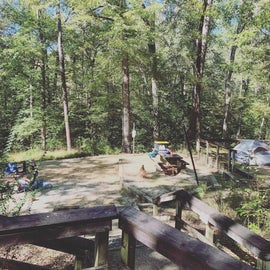 Improved campsite