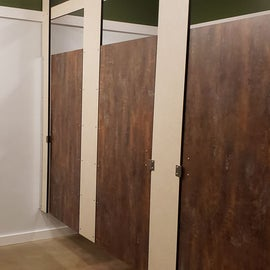 Women's bathroom
