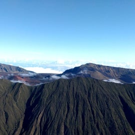 Haleakala Crater View From Helicopter