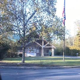 State Park Visitor's Center/Office at Park Entrance