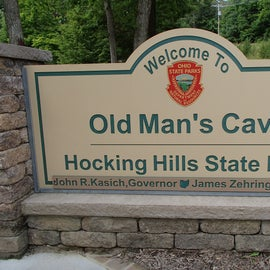 Old Man's Cave is a must see and a trail you must walk in its entirety.