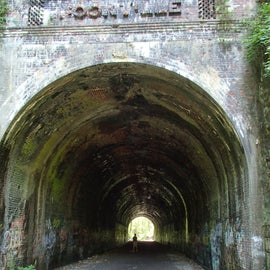 """The infamous """"haunted"""" Moonville RxR tunnel...beware!"""