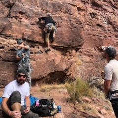 Nearby rock climbing!