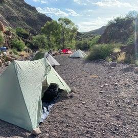 Seep Spring campsite