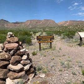 Rancherias Loop trailhead