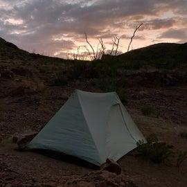 Rancherias Spring Campsite