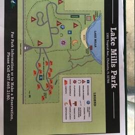 Map of Lake Mills