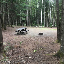 The sites are large, flat, and all have a fire ring on the correct side for campers and RVs.