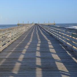 Boardwalk with beach access