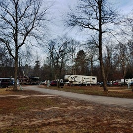 Most of the other campers at this campground were either seasonal or were in large RVs; however, I felt welcome in my little teardrop camper.