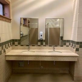 Restroom sink