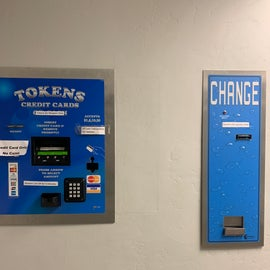 Zion Outfitters change and token machines