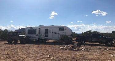 Exit 131 dispersed camping