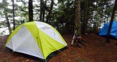 Clearwater Lake West Campsite