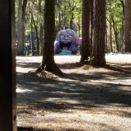 Monster sculpture