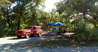 The Point Campground (Ok) Chickasaw Nra