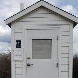 Composting toilet was resting during the winter