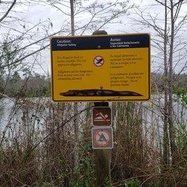 Gator warnings