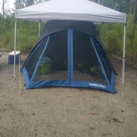 Cannot wait to sleep in our new tent