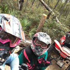 Great trails got ATV riding families