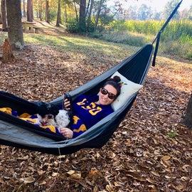 Great hammock set up at Site 52!