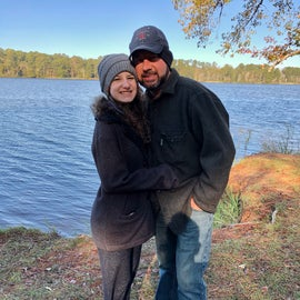 A cool November stroll around the campground