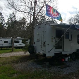 Our site 26.  We moved to site 22 after we took our RV for repairs over to Gulfport.