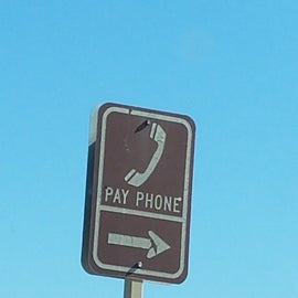 Never found the pay phone... I think this is a relic from original park