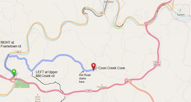 Coon Creek Cove, Mountain Hideaway